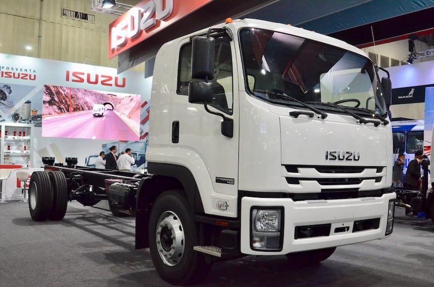 Camiones Isuzu, tecnología y versatilidad que impone