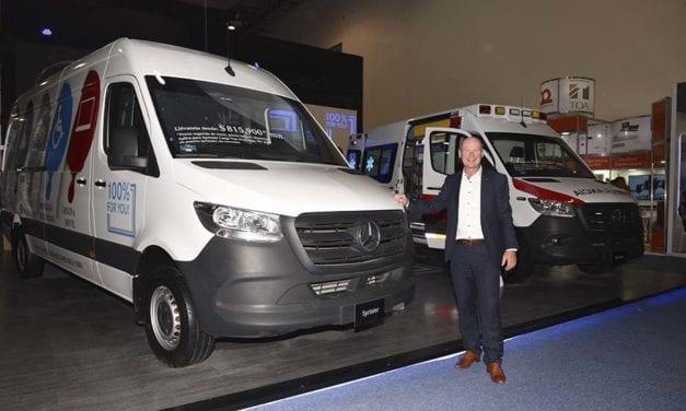 La tecnología de Mercedes-Benz Vanes presente en Expo Seguridad