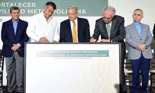 Construirán tren ligero en Monterrey
