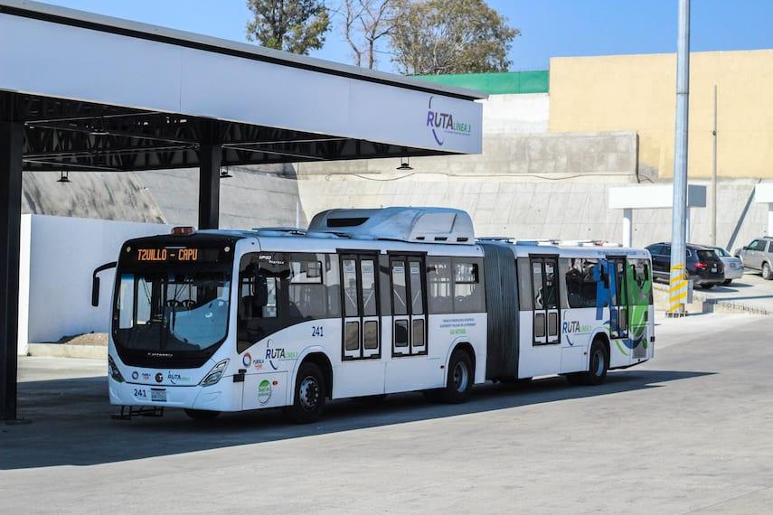 Scania pone en marcha 37 autobuses a gas natural en Puebla