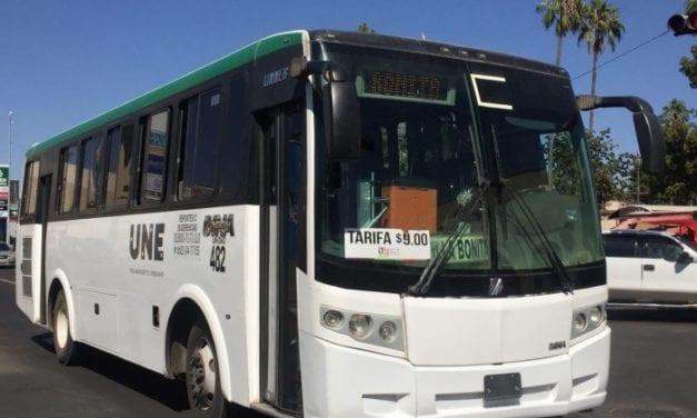 Reactivan transporte público en Hermosillo