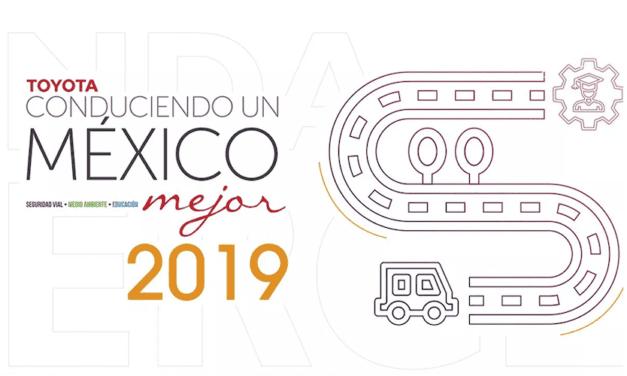 """Lanza Toyota convocatoria de """"Conduciendo un México Mejor"""""""