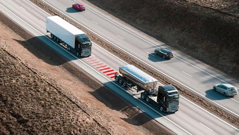 Solución Volvo para mantener la distancia