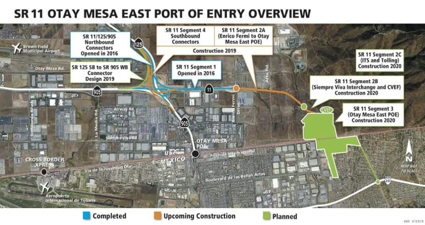 Planean nuevo cruce internacional y puerto fronterizo