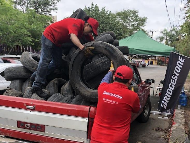 Logra Llantatón 500 toneladas de llantas recolectadas