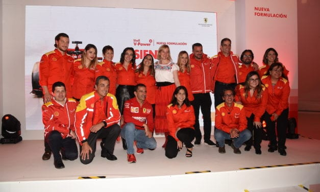 Presentan gasolina Premium Shell V-Power