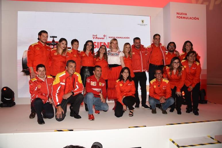 Presentan gasolina Premium Shell V-Power