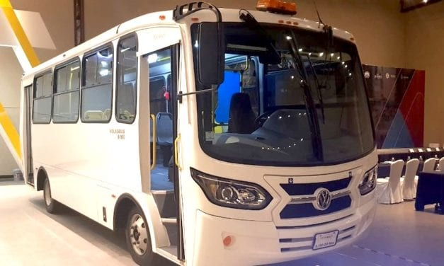 Presentan Volksbus a socios de Conturmex