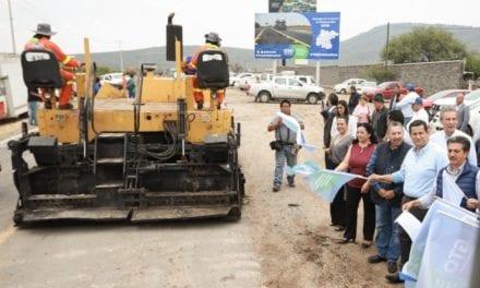 Arranca Guanajuato Programa de Conservación Carretera