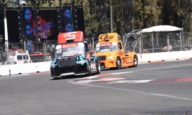 Tractocamiones Freightliner correrán en autódromo de León