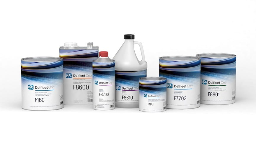 PPG Delfleet One, nuevo sistema de pintura para vehículos comerciales