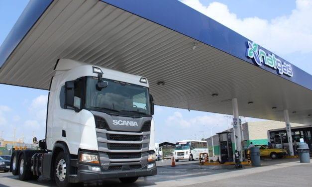 Llegan a México los primeros camiones Scania GNC Euro 6