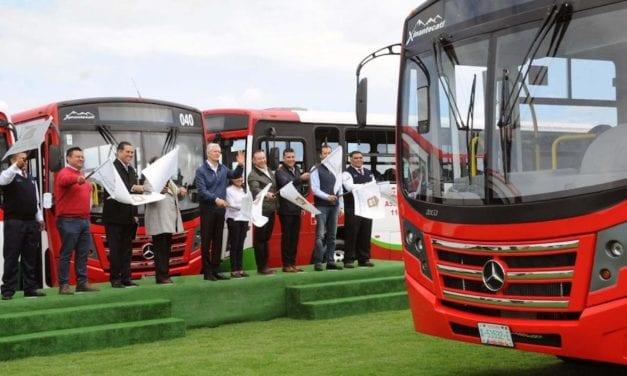 Transporte en Edomex suma más de 10 mil vehículos con GPS