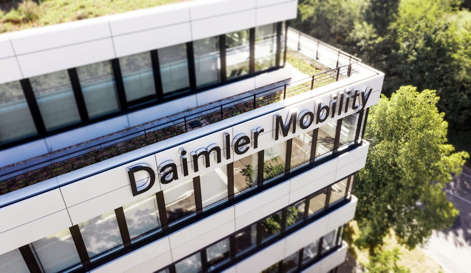 Daimler Financial Services AG ist ab heute Daimler Mobility AGDaimler Financial Services AG today becomes Daimler Mobility AG