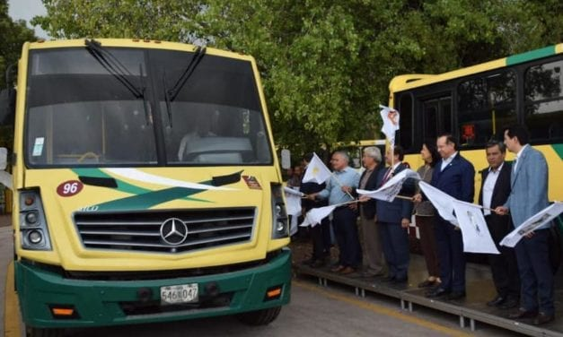 Estrena Edomex 20 autobuses Mercedes-Benz