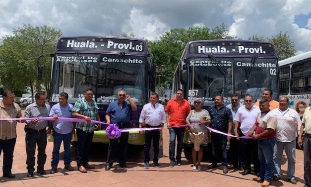 Inauguran Ruta 57  Hualahuises-Linares en NL