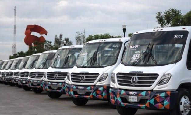 50 autobuses Mercedes-Benz para sistema YOVOY