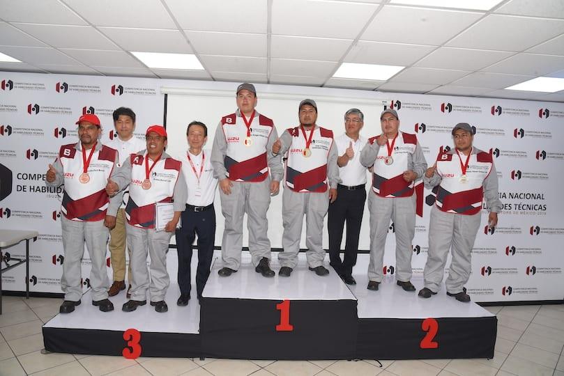 Isuzu SLP rumbo a competencia mundial de habilidades técnicas