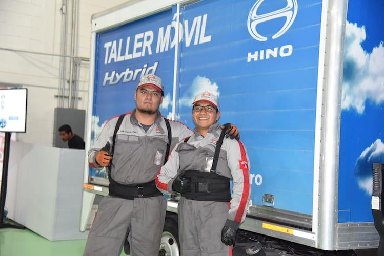 Precisión y rapidez con Taller Móvil Hino