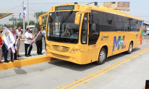 Arranca operaciones Línea Exprés 1 en Mexicali