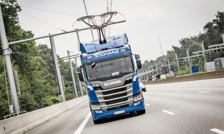 Autopista eléctrica alemana incluirá más camiones Scania