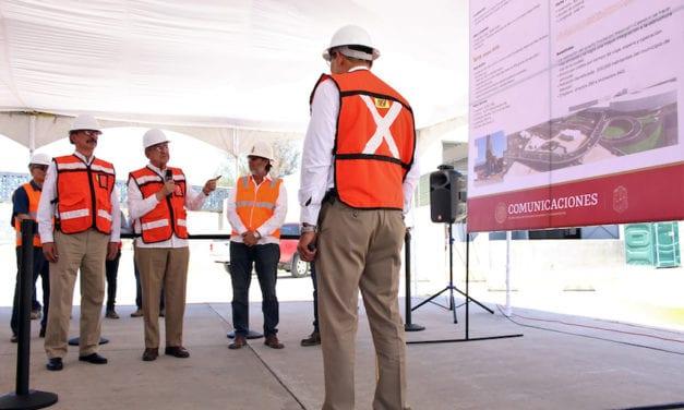 Avanza puente vehicular en el cruce fronterizo Mexicali-Río Nuevo