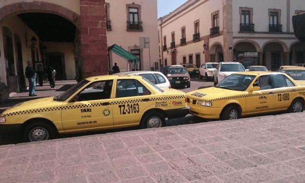 Taxis en Querétaro contarán con plataforma digital