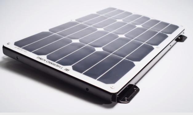 El uso de paneles solares en el transporte refrigerado