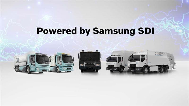 Se une Samsung al desarrollo de e-trucks Volvo