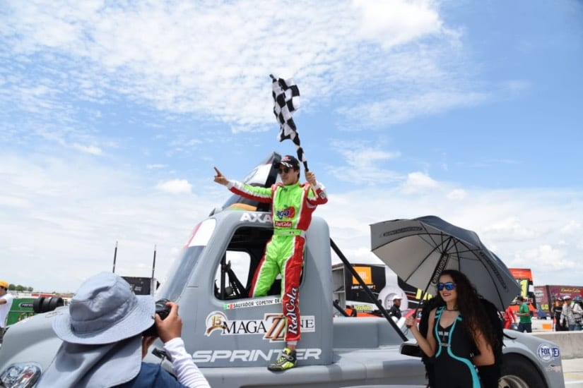 Gana Salvador de Alba la carrera de los tractos