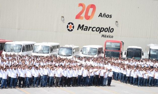 Marcopolo 20 años: evolución y consolidación