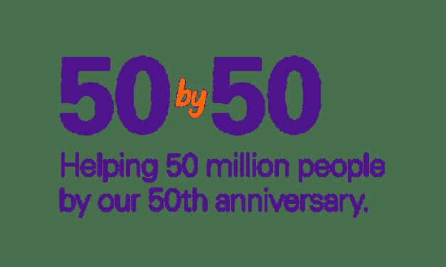 Meta FedEx: ayudar a 50 millones de personas