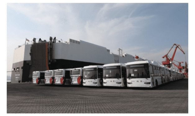 Llegan al Qrobús autobuses a GNV King Long