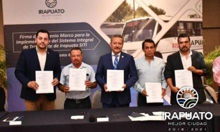 Irapuato implementará modelo integral de transporte