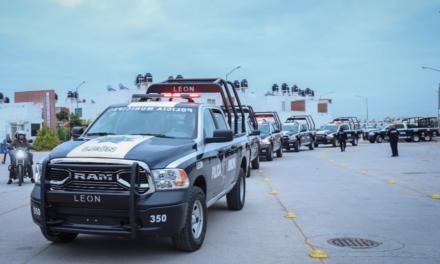 León suma 26 nuevas patrullas