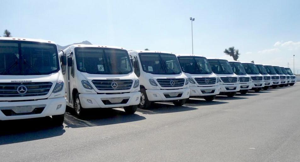 Grupo Traxión adquiere autobuses Mercedes-Benz
