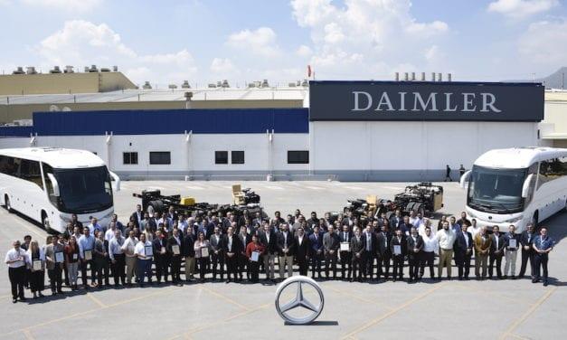 Entrega Mercedes-Benz Autobuses los Masters of Quality 2018