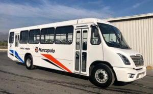 Llega Spectrum con el sello Marcopolo-Volkswagen-Magazzine del Transporte