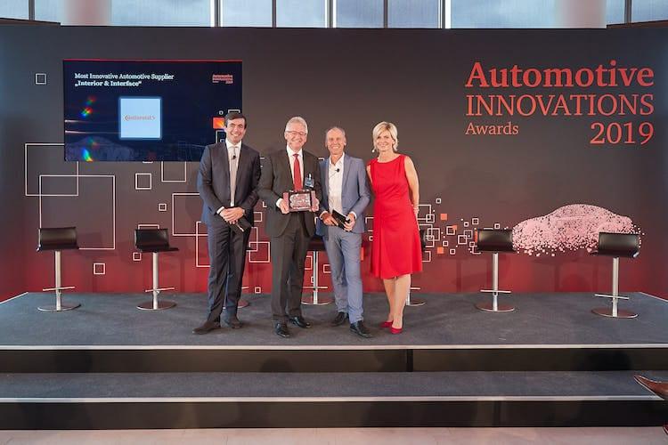 Gana Continental premio AutomotiveINNOVATIONS