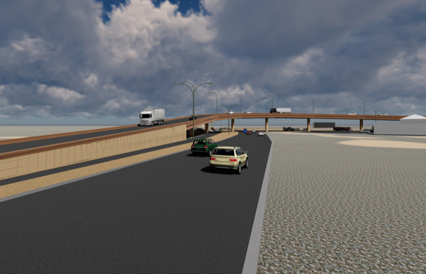 Juárez construye corredor vial