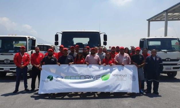 Imparte Hino curso EcoDrive en Monterrey