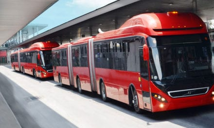 10 Volvo biarticulados para Metrobús L1