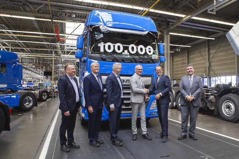 Alcanza DAF 100 mil unidades producidas