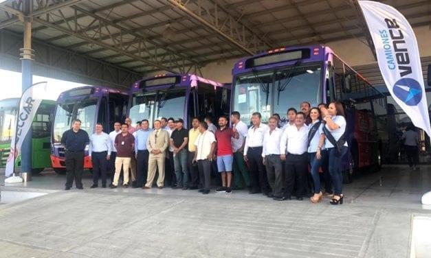 Estrenan 6 autobuses Mercedes-Benz en Los Cabos