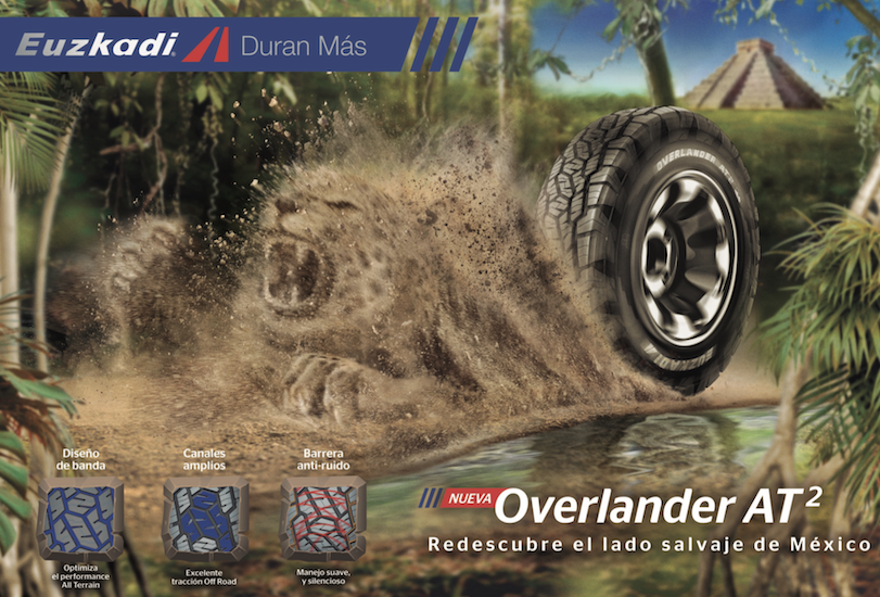 Overlander AT2: la nueva línea de Euzkadi