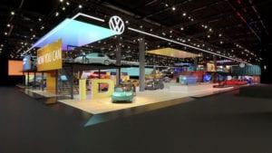 Enfocada a electromovilidad, nueva imagen de VW-Magazzine del Transporte