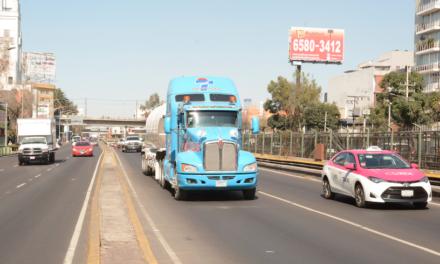 Publica CDMX nuevas disposiciones para vehículos de carga