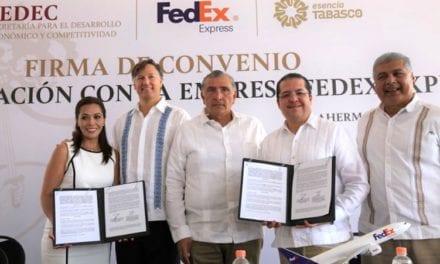 Apoya FedEx crecimiento de Pymes en Tabasco