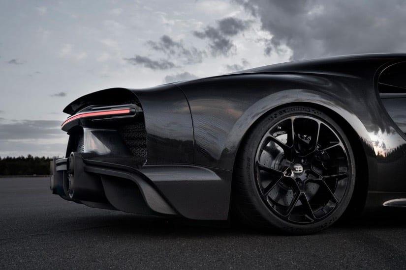 Desarrolla Michelin llantas para el Bugatti Chiron