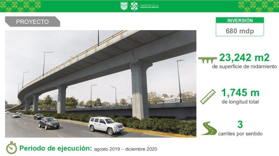 Construirán 3 puentes vehiculares en CDMX-Magazzine del Transporte